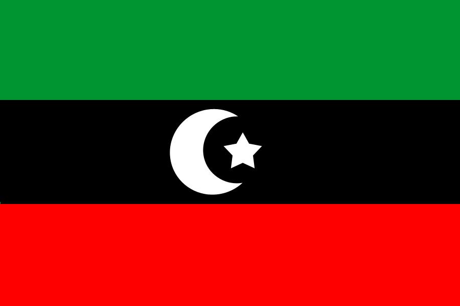 Libië Flag